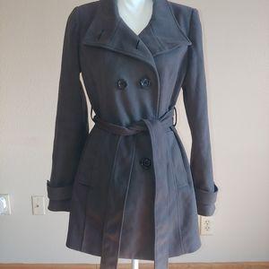 XXI Gray Pea Coat size M